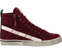Rote Diesel Sneaker D-Velows MID