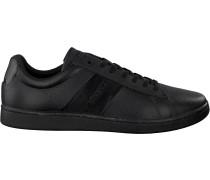 Schwarze Lacoste Sneaker Carnaby Evo 319 1