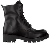 Schwarze Tosca Blu Shoes Schnürstiefel Sf1713S245