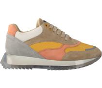 Taupe Bronx Sneaker Low Linkk-up