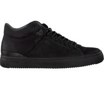 Schwarze Blackstone Sneaker Qm87