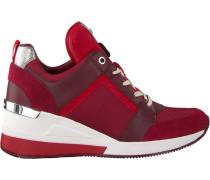 Rote Michael Kors Sneaker Georgie Trainer