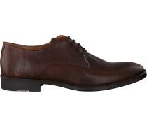 Cognacfarbene Mcgregor Business Schuhe Napoli