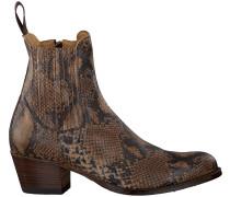 Cognacfarbene Sendra Cowboystiefel 16151