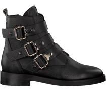 Schwarze Nubikk Ankle Boots SIA Buckle