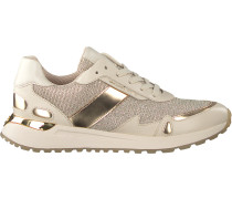 Goldfarbene Michael Kors Sneaker Low Monroe Trainer