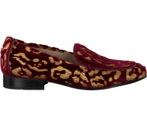 Rote Fabienne Chapot Loafer Hayley Loafer Leopard
