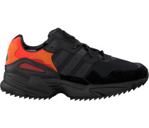 Schwarze Adidas Sneaker Yung-96 Trail