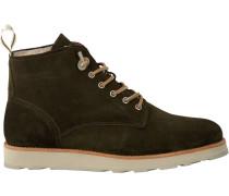 Grüne Blackstone Ankle Boots Om74