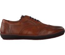 Cognacfarbene Floris Van Bommel Sneaker 19036