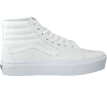 Weiße Vans Sneaker High Ua Sk8-hi Platform 2.0