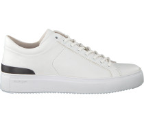 Weiße Blackstone Sneaker Pl98