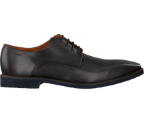 Blaue Van Lier Business Schuhe 6080