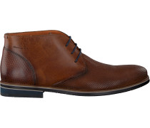 Cognacfarbene Van Lier Business Schuhe 1955631