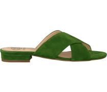 Grüne Omoda Pantolette 2203