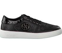 Schwarze Guess Sneaker Flgia3 Pat12