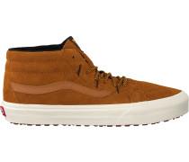 Cognacfarbene Vans Sneaker Sku8 Mid Reissue Sku8 Mid Reis