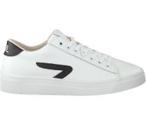 Weiße HUB Sneaker Low Hook-z Lw