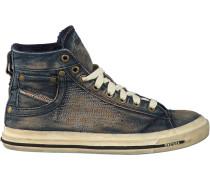Blaue Diesel Sneaker Magnete Exposure IV LOW W