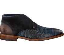 Blaue Rehab Business Schuhe Salvador