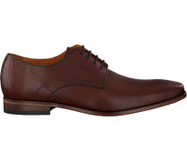 Cognacfarbene Van Lier Business Schuhe 1958902
