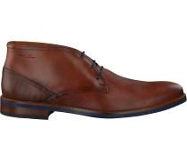 Cognacfarbene Van Lier Business Schuhe 1915315