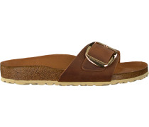 cognac Papillio shoe Madrid BIG Buckle