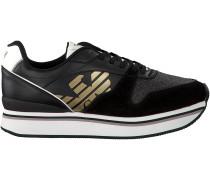 Schwarze Emporio Armani Sneaker X3X046