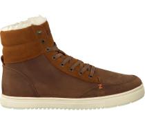 Braune HUB Sneaker Millennium