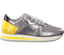 Silberne Nubikk Sneaker EVI JAW