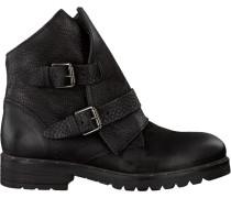 Schwarze Mjus Biker Boots 190219