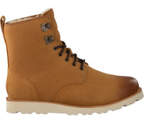 Camelfarbene Ugg Ankle Boots Hannen Tl