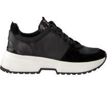 Schwarze Michael Kors Sneaker Cosmo Trainer