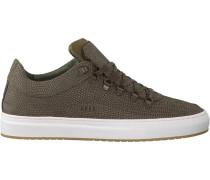 Grüne Nubikk Sneaker Julien Miele Lizard II