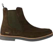 Grüne Nubikk Chelsea Boots Logan Bond