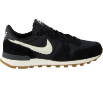 Schwarze Nike Sneaker Internationalist Wmns