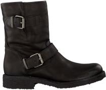 Schwarze Ca'Shott Biker Boots 10253