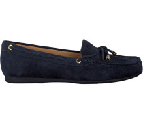 Blaue Michael Kors Mokassins Sutton MOC
