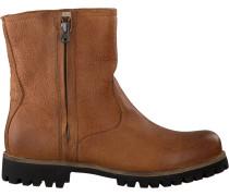 Cognacfarbene Blackstone Biker Boots Ol24