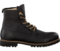 Schwarze Blackstone Ankle Boots Im12