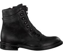 Schwarze Mjus Biker Boots 971236 Sole PAL