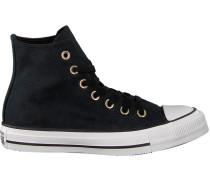 Schwarze Converse Sneaker Ctas HI Dames