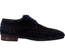 Blaue Floris Van Bommel Business Schuhe 14058