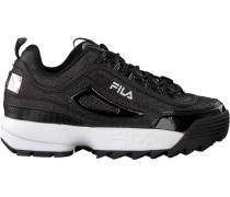 Schwarze Fila Sneaker Disruptor Glam LOW