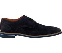 Blaue Van Lier Business Schuhe 1915314