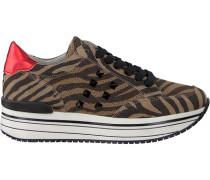 Taupe Omoda Sneaker Leanstud Sneaker