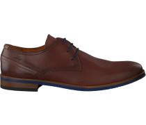 Cognacfarbene Van Lier Sneaker 1915316