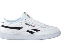 Weiße Reebok Sneaker Low Club C Revenge Mu Wmn