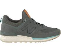 Graue New Balance Sneaker Ws574 WMN