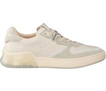 Coach Sneaker Low Adb Suede-leather Court Weiß Damen